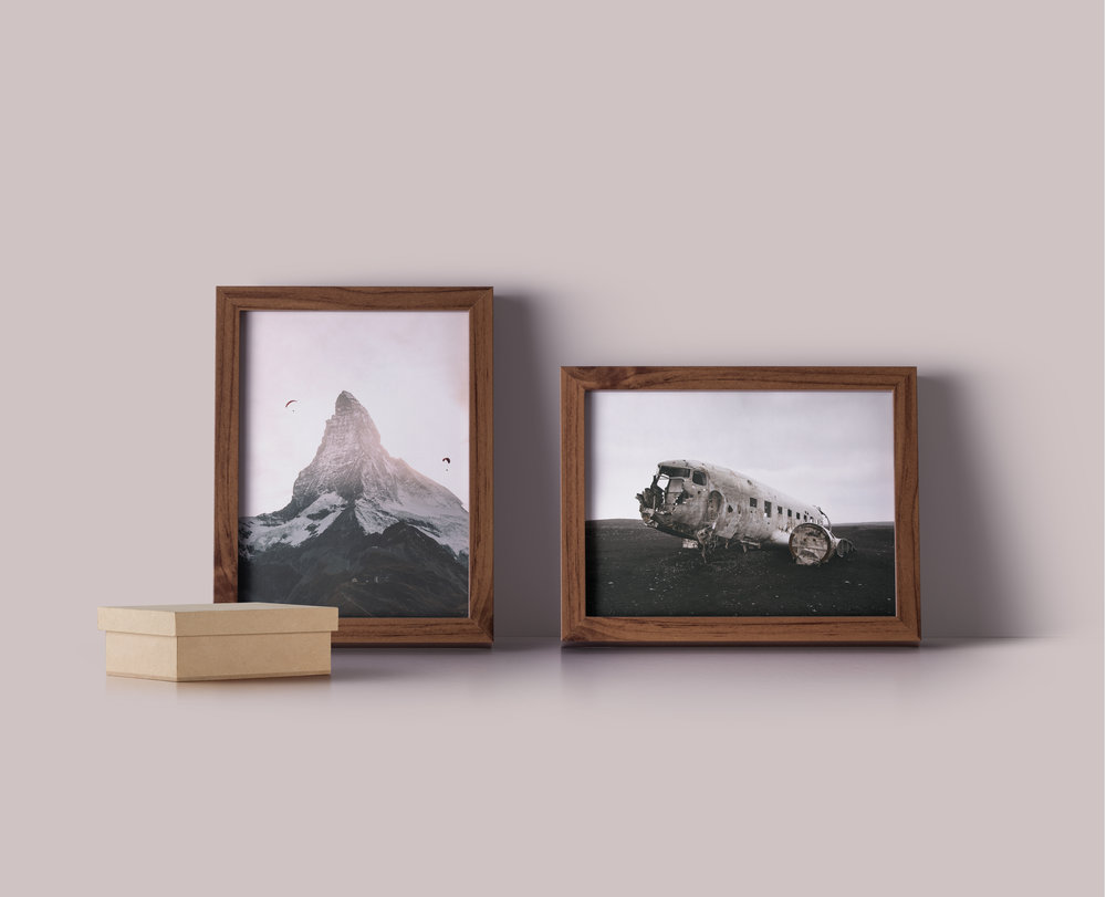 photo prints - its sort of like a choose your own adventure.