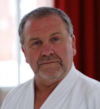 Peter Gillard Shihan, chief instructor of Sho-Bu-Kan.