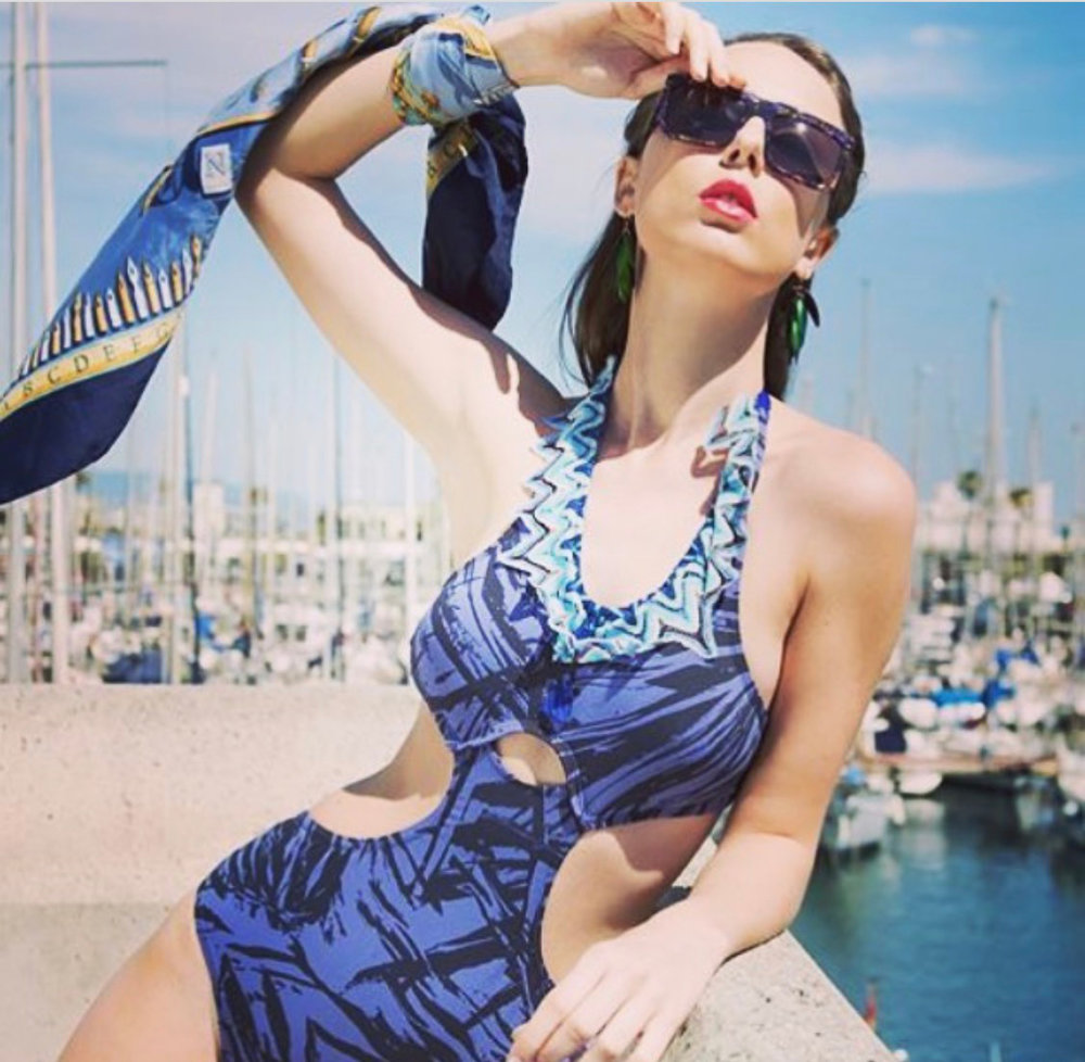 Liquid12barcelona Swimwear.Mod 168 Special Edition by Wilde Sunglasses. - Barcelona