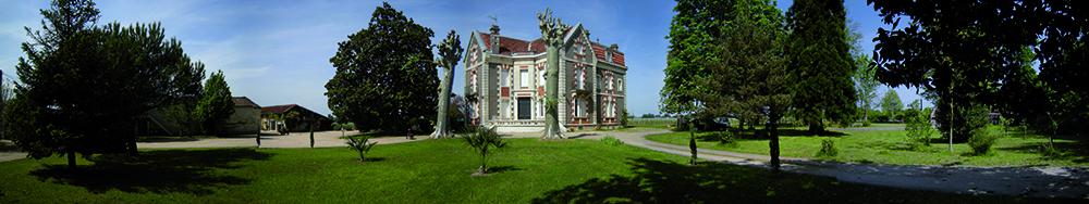 Familien Roskam med mor, sønn og svigerdatter driver Chateau Cantenac