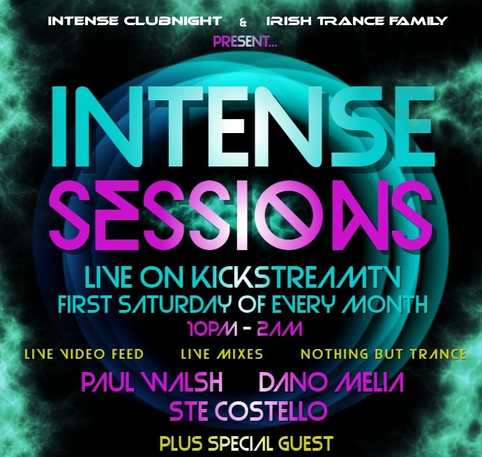 PAUL WALSH LIVE ON INTENSE SESSIONS 02.09.2017 -