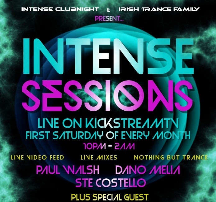 PAUL WALSH LIVE ON INTENSE SESSIONS 05.08.2017 -