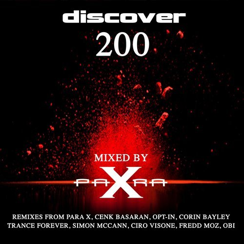 DISCOVER 200-VARIOUS ARTISTS MIXED BY PARA X -
