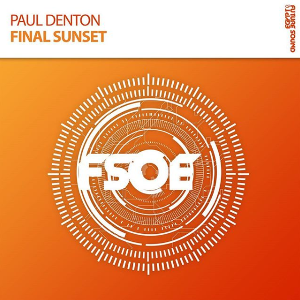 Paul Denton - Final Sunset - Irish DJ & producer, Paul Denton makes his return to FSOE's flagship imprint with his exquisite new single 'Final Sunset'. Supreme FX, quality melodies and unparalleled production technique are abundant throughout this Trance masterpiece. Don't miss this 'Final Sunset'.