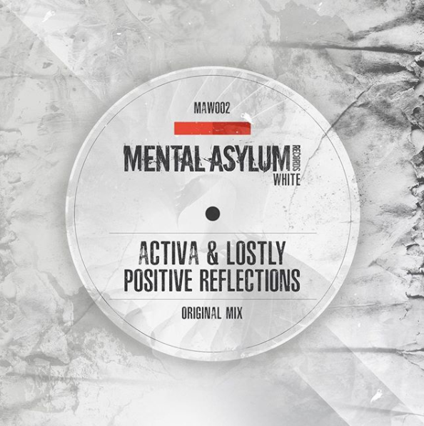 Activa & Lostly - Positive Reflections - The second release on our White imprint sees another piece of genius as Lostly teams up with trance stalwart Activa. The resulting collaboration between the two leads to a beautful uplifting track. With a cathcy main lead, lovely plucks and just the right amount of punch this is a quality piece of trance music