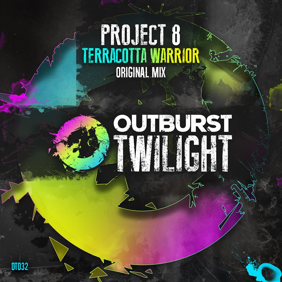 project 8 - terracotta warrior  - Project 8 returns to visit the Outburst family, but this time on Twilight. Shane's latest production Terracotta Warrior is a slamming tech-trancer that oozes with class. A seriously good organic sounding bass groove is the driving force behind this track. Double that up with a huge euphoric classic trance sounding breakdown and you've got yourself one of P8's best ever productions. This is a real warrior of a track, so prepare for battle on the dancefloor!