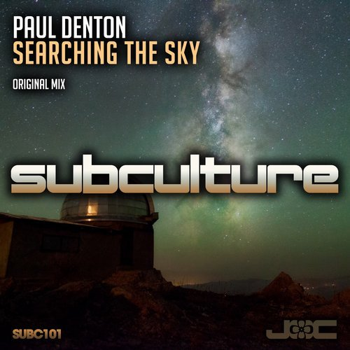 PAUL DENTON - SEARCHING THE SKY - 18.03.2016