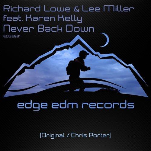 RICHARD LOWE & LEE M - NEVER BACK DOWN - 05.05.2014