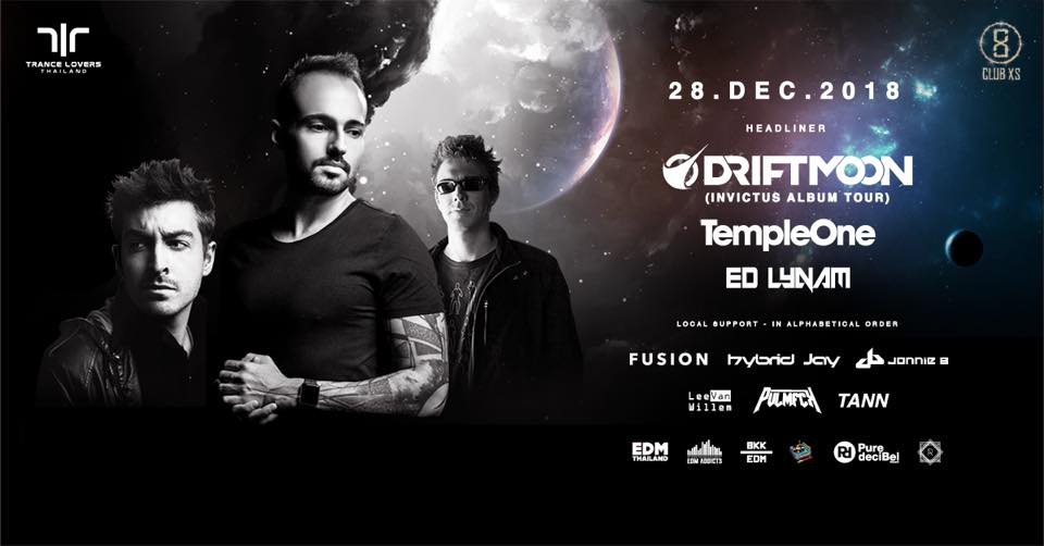 TLT Presents Driftmoon, Temple One & Ed Lynam plus support - 28.12.2018