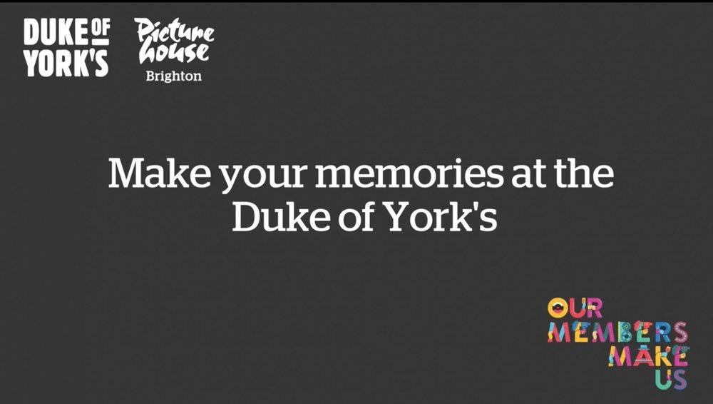 'Make Your Memories' film still