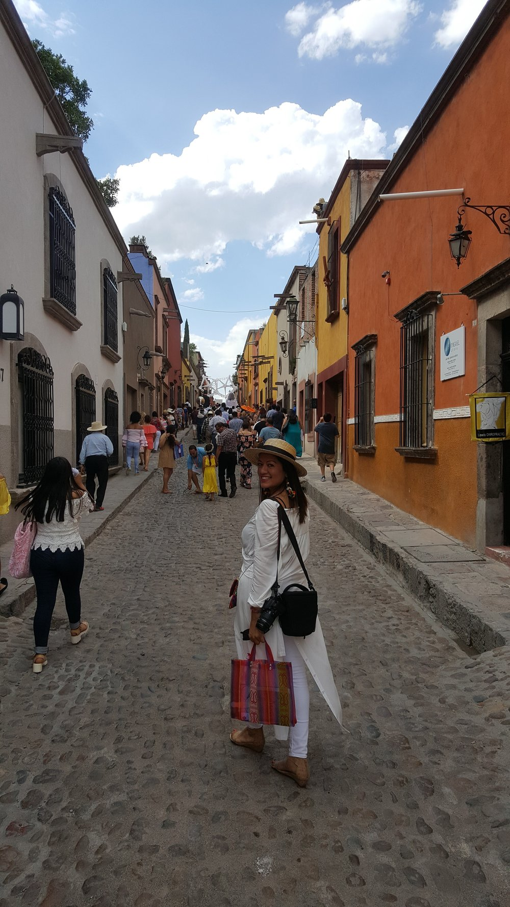 Happiest when traveling! San Miguel de Allende last summer in Mexico.