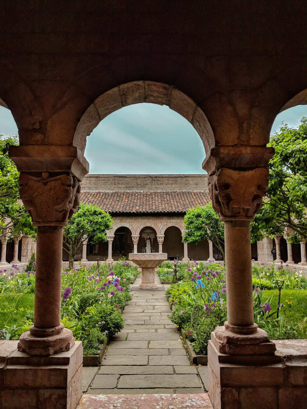 My favorite spot to get away in Upper Manhattan,   The Met Cloisters .