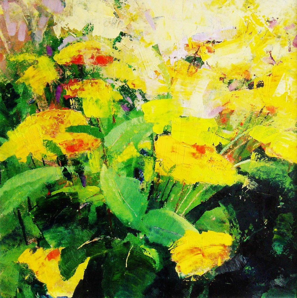 Yellow Flowers ( Edition of 195 )
