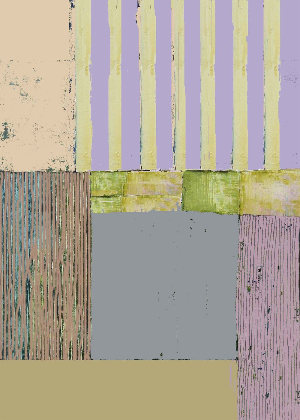 Mauve and Green 53 x 38cm ( Edition of 95 )