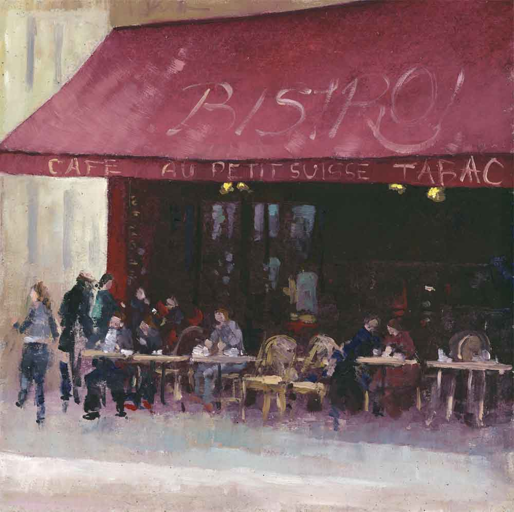 Street Cafe Paris ( Edition of 195 )