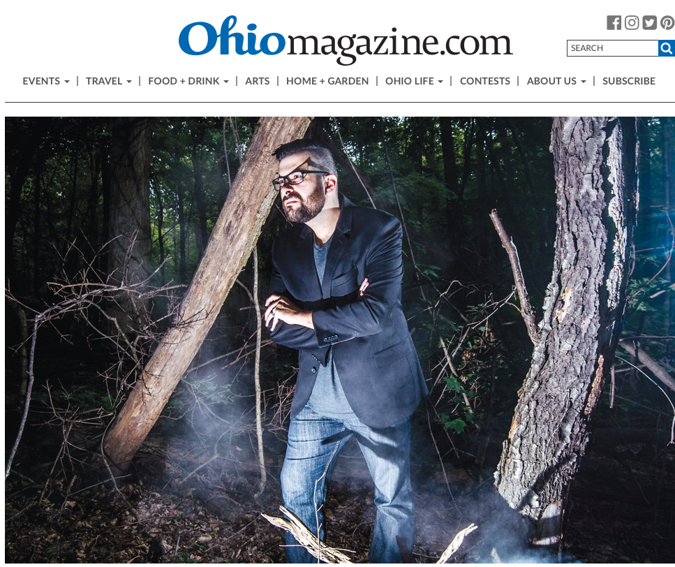 Magazine Article: Ohio Magazine (10/2/17)   In this article about Small Town Monsters in Ohio Magazine, Brandon provides a few quotes about Director Seth Breedlove.