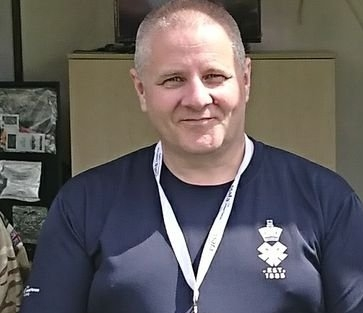 Kevin Bowman. Head of Warwickshire & Coventry branch of SSAFA