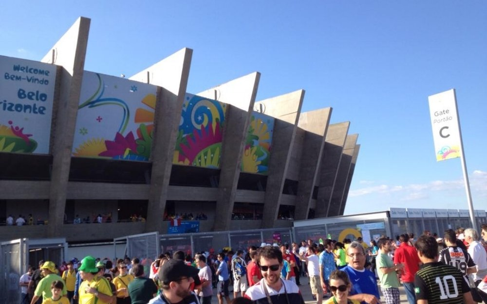 PHASE TWO - ATTENDING THE WORLD CUP PARTY IN BRAZIL