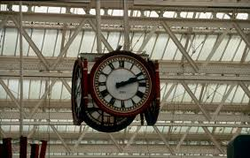 Clock at waterloo Stn.... our first date