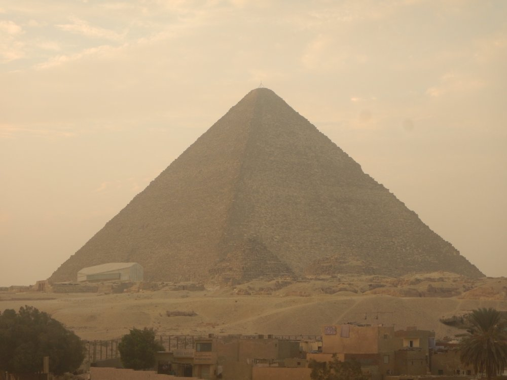 The Great Pyramid.