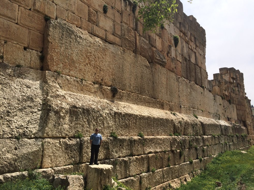 The Trilithon at Baalbek.