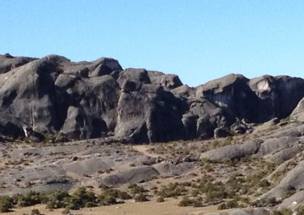 Taweret ......Carved into the rock at centre of the picture