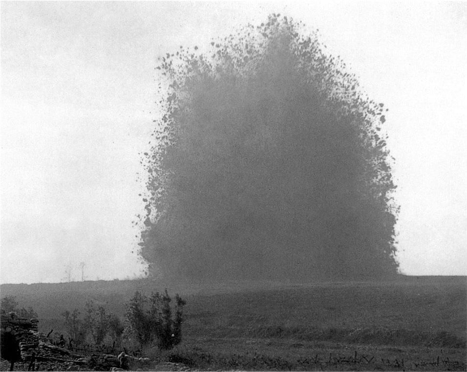 Not the 'Lochnagar Mine' but the Hawthorne Ridge Blast