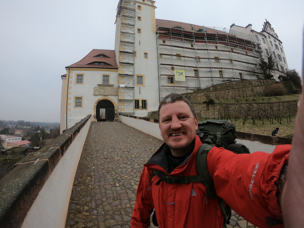 The entrance to Colditz & the scene of more than a few escape attempts.