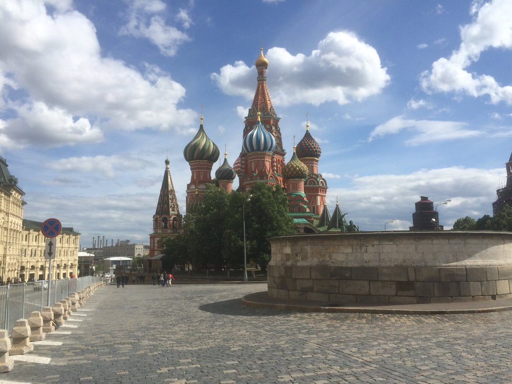The Very Beautiful 'St Basils Chapel', Red Square.