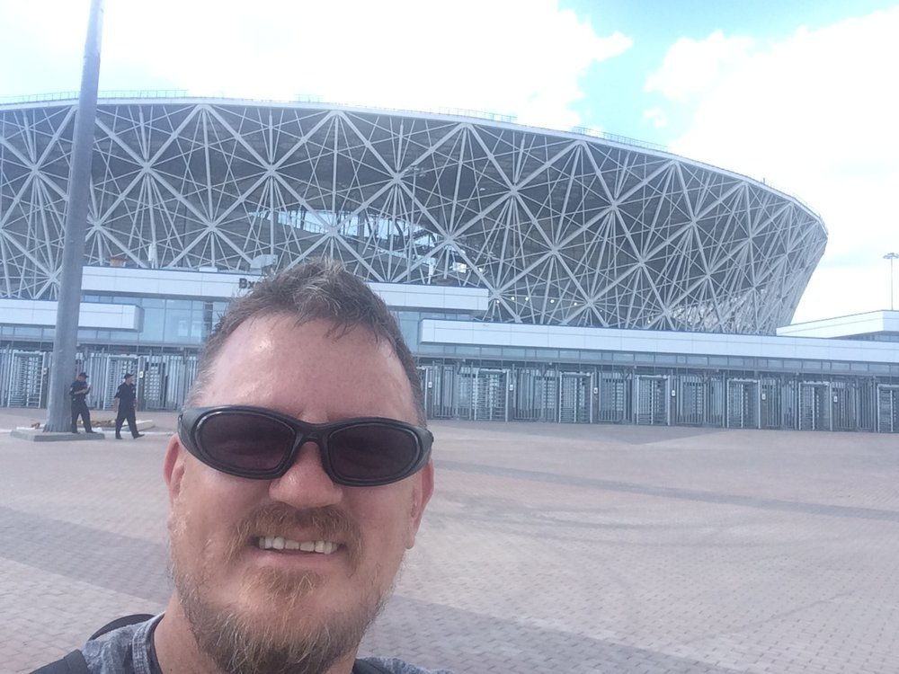 The new Volgograd Stadium