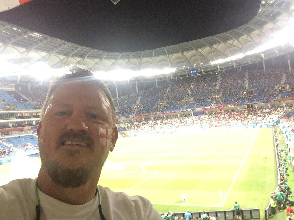 England 2-1 Tunisia