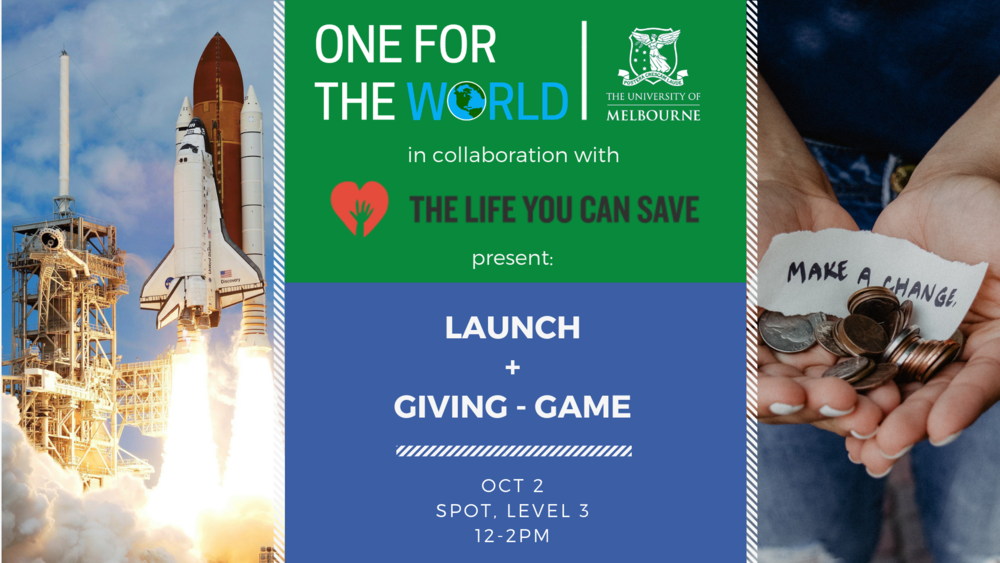 Launch Event + Giving-game
