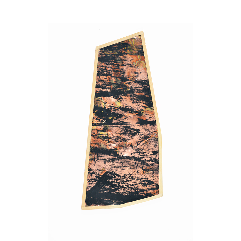 Aérea II , series, oil ink, copper, wood, 0x20 cm,2015