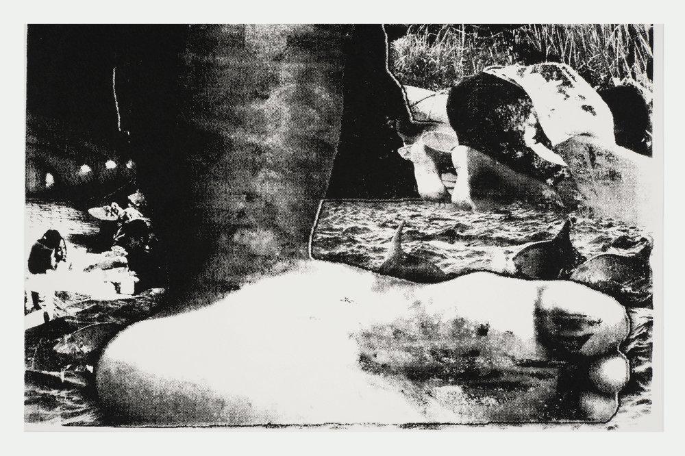 Mocha , series, 1/12,screen print, oil ink, paper, 40×25 cm, 2015