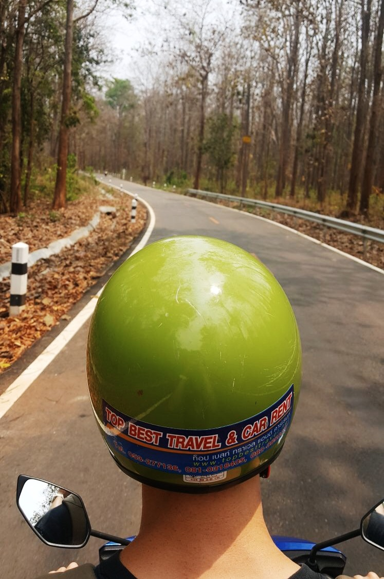 Sticky Falls_Chiang Mai_Thailand_Climb_Motorbike_Hike_Travel_Blog_Police_Scooter-2