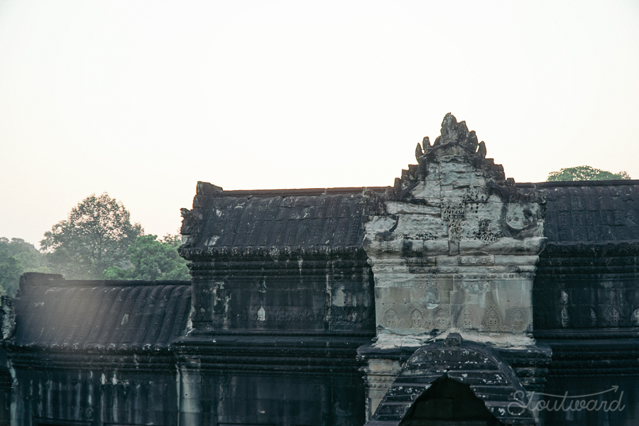 temple of ankor wat siem reap cambodia at sunrise