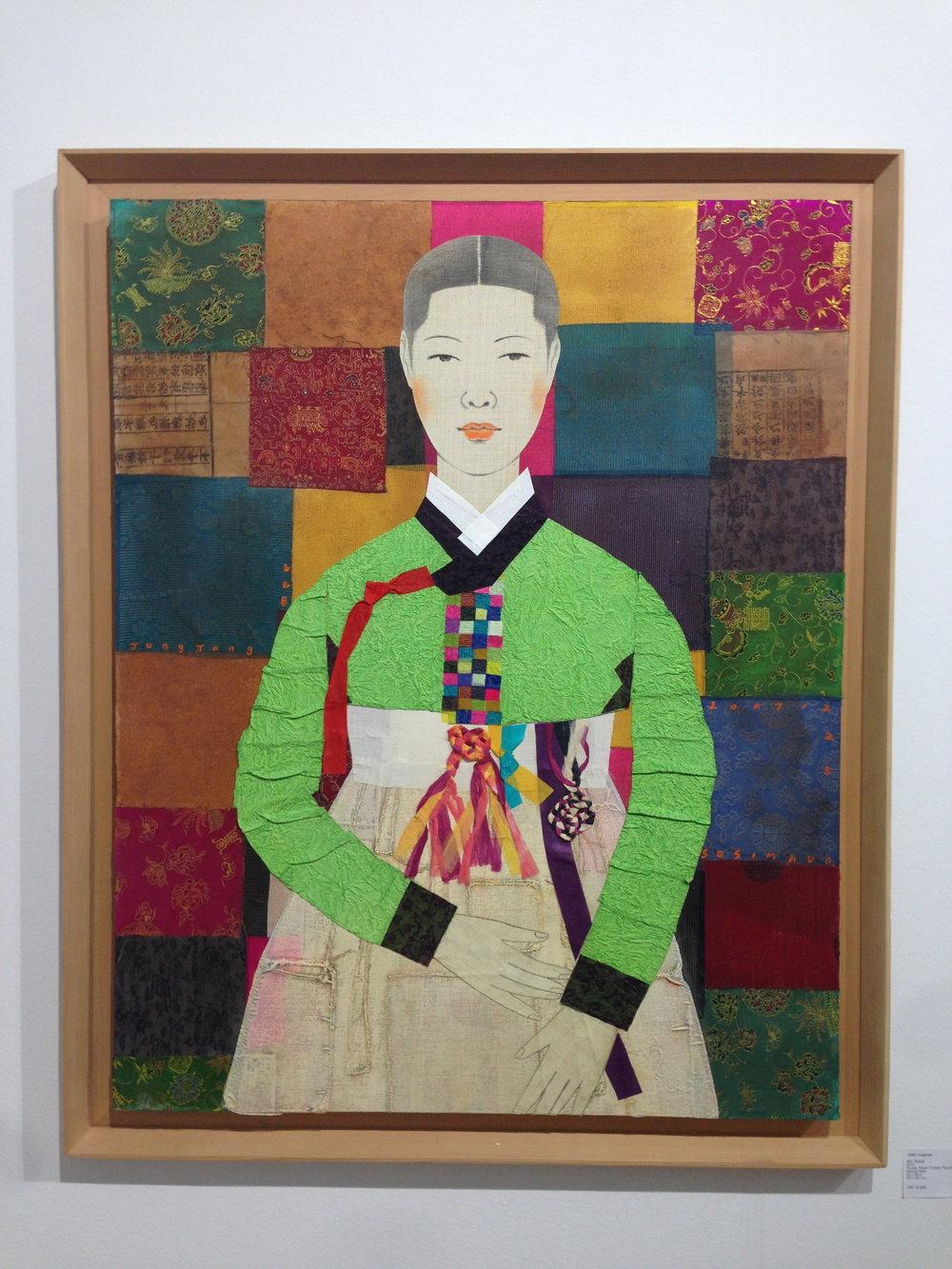 Mrs. Bojagi 2010 by Jung Jongmee