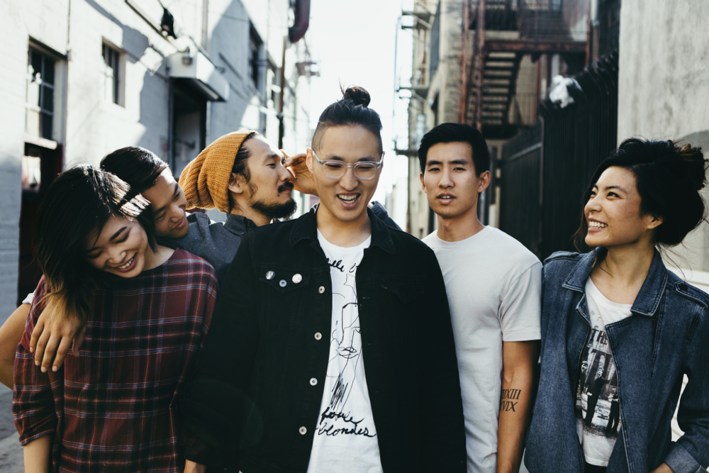 Left to right: Sally Kang, Daniel Chae, Alex Hwang, Johnny Chong, Joe Chun, and Jennifer Rim.  Photo Credit: Run River North