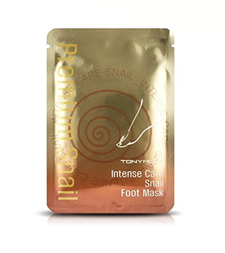 Snail Foot Mask, $6, similar here - For softer feet, try the snail foot mask, essentially two plastic bags for each foot that you wear for about 20 minutes. You can go on about your business during this time, just with slightly slower steps. Keep in mind that your feet may still be wet after removing the mask. I honestly didn't expect to see any results, but was pleasantly surprised to see that my feet looked more supple than ever before. —J.K.