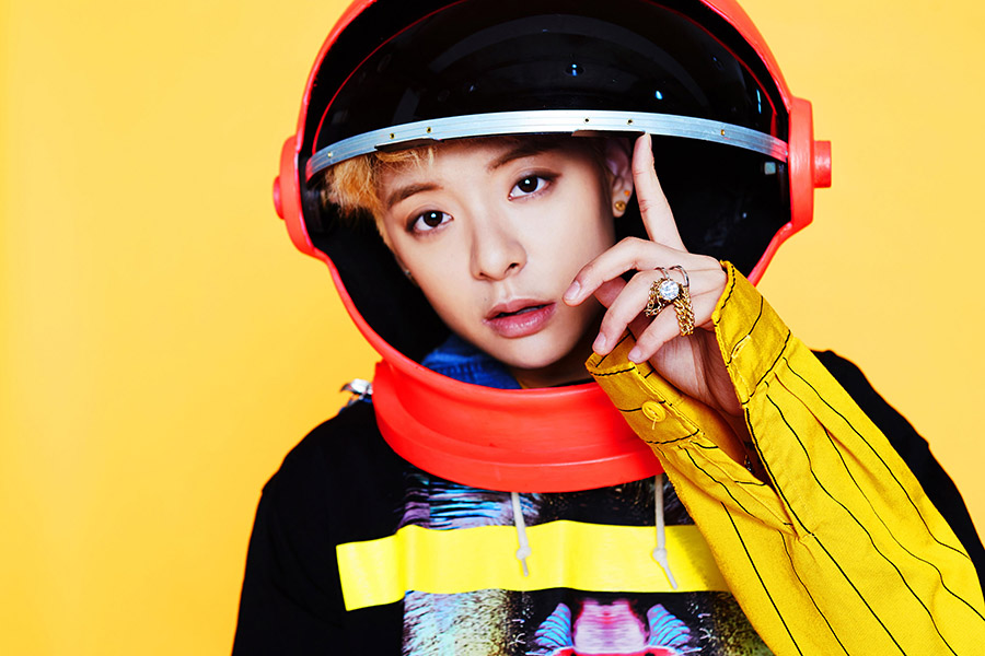 """Amber Liu, 22 - California native Amber Liu, 22, is a member of the five-girl Korean pop group f(x), known for their catchy dance tunes and strong visual concepts. The group has received considerable attention in the U.S., performing at SXSW and collaborating with Anna Kendrick on a hilarious video for Funny or Die. Liu has also achieved great success individually. Liu, a Taiwanese American singer and rapper, was discovered at a global audition for S.M. Entertainment and didn't speak Korean until she joined the company. Last month, she released a solo album, titled """"Beautiful."""" Read our interview with Amber here. -T.H."""