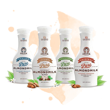 Alternative: Almond Milk - If you don't like the taste of cow milk, or have allergic restrictions, try swapping in other options like almond or rice milk.