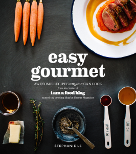 Easy Gourmet by Stephanie Le ($13.90 on Amazon) - Pick up a copy of Easy Gourmetfor the Asian fusion cook in your life. Stephanie's easy-to-follow recipes, which range from banh mi pork sliders to miso glazed eggplant, all feel like a treat—as do the beautiful photos. (There's a reason we featured her as one of our favorite food bloggers.)