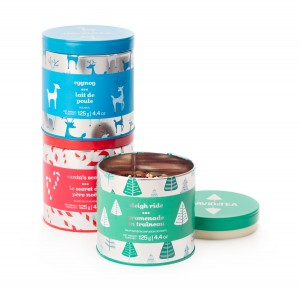 David's Tea Holiday Collection ($19.50) - Add a fun twist to any tea collection with David's Tea's festive mix. Choose between Santa's Secret, Eggnog, and Sleigh Ride flavors for an unexpected but satisfying caffeine kick.