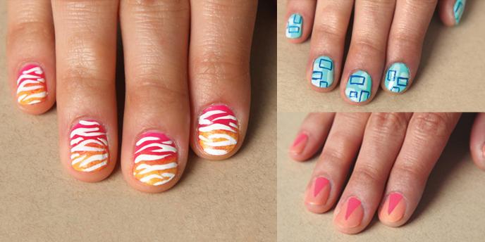 - Summer Fun: Our Favorite DIY Nail Art Looks — Mochi Magazine