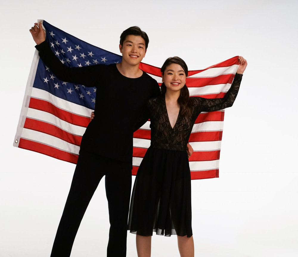 "Maia Shibutani, 23 - After helping Team USA win the bronze in team skate, Maia Shibutani and her then-26-year-old brother, Alex, became the first ice dancers of Asian descent to medal at the Olympics. Then they kept up their winning streak by nabbing the bronze in ice dancing. As an Asian American sibling team, Maia hopes they inspire sibling pairs as well as Asian and Asian American teams to try out ice dancing. In addition to their rigorous training schedule, Maia and Alex enjoy being active on social media, posting regularly on their ShibSibs YouTube channel. Maia says sharing vlogs of training, competitions, and travel on video ""is rewarding because we have the ability to connect to people around the world."" For her, taking part in the 2018 Pyeongchang Olympics was a dream come true: ""There is no other competition like the Olympics and just thinking about the feeling I want to have at the end of our competition helps give me the strength and determination I need to persevere and overcome exhaustion and challenges."" — M.Y.Image Credit: Ryan Feng"
