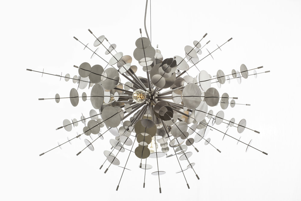 Confetti Stainless Chandelier