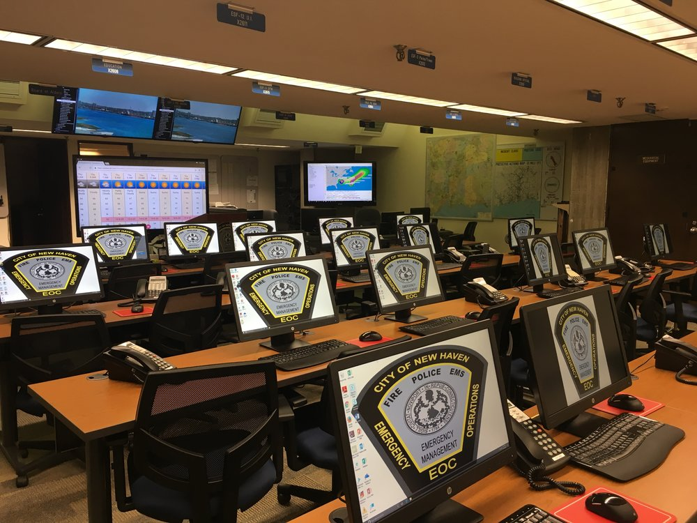 Emergency operations center - New Haven