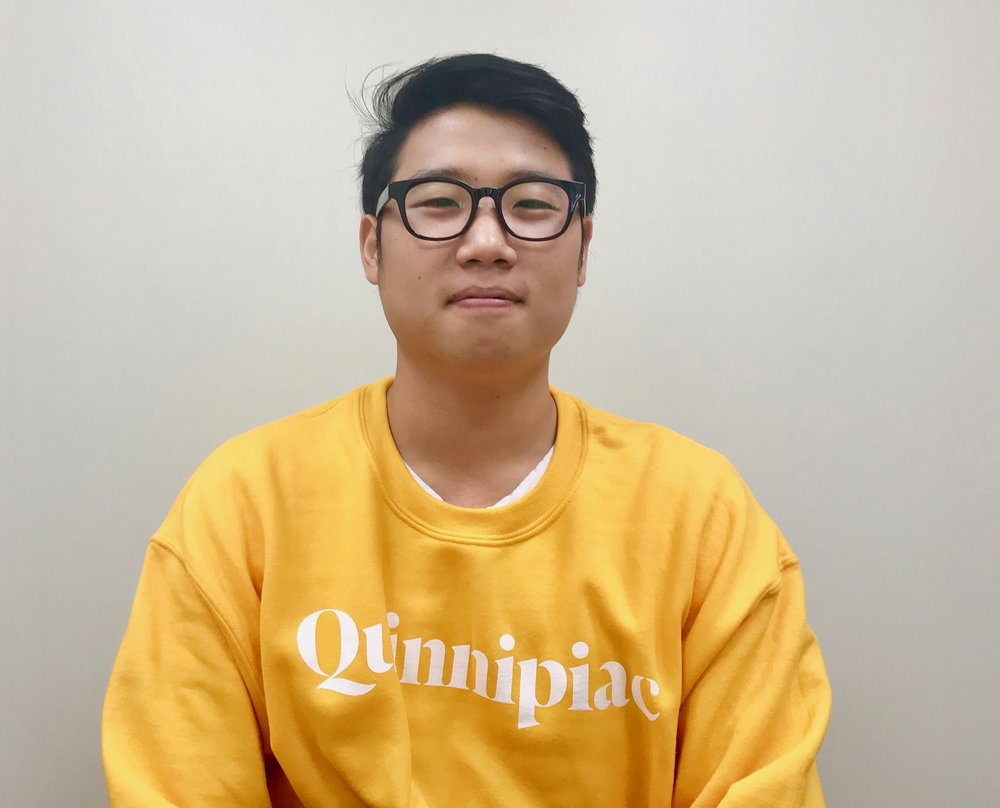 Jiseok Hyun,South Korea,23,Computer Science  - Diversity was like a taboo, everybody knew about it. Everybody was aware that we should respect each other. Maybe it's because I went to a majority white high school, they didn't have a lot of diversity activities like we do in Quinnipiac because it was just a high school. I saw a lot of segregation, only Asian people hang out with Asian students. So, before I came here I was like there are still solid lines between races and I didn't like that. Now, it's a gift. What I realized is that we have a lot of common things, we share something in difference. I think that's just amazing if you just think of it, we find each other similar or the same in difference like of cultural backgrounds, race. I see a lot of possibilities in diversity.