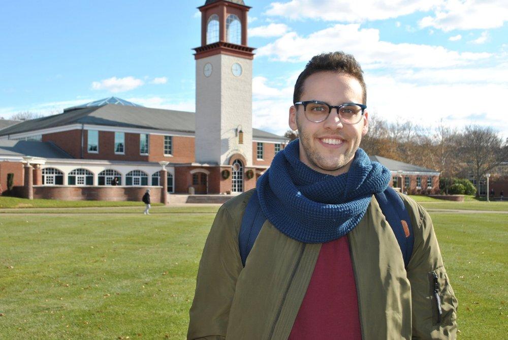 Quinnipiac senior, Ian Zeitlin.