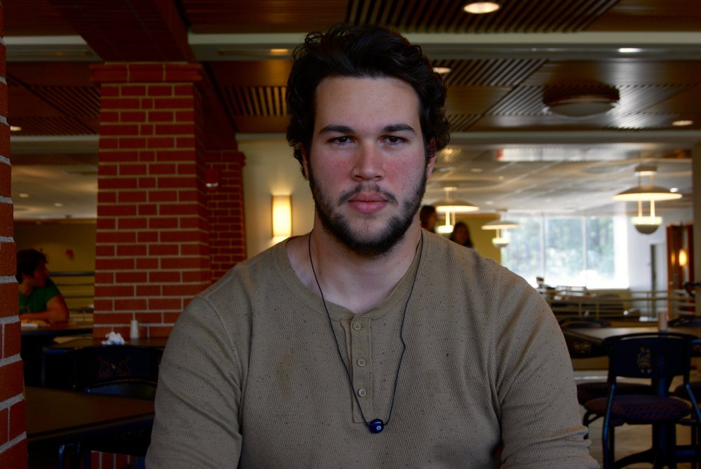 Correa, one of the three Brazilian students at Quinnipiac,is enjoying his first semester at the university and all the resources it provides.